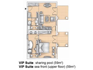 VIP Suite Sharing Pool